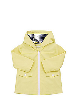 F&F Rubberised Hooded Mac - Yellow