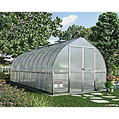 Palram Bella 8x20 - silver greenhouse - Polycarbonate and aluminium frame
