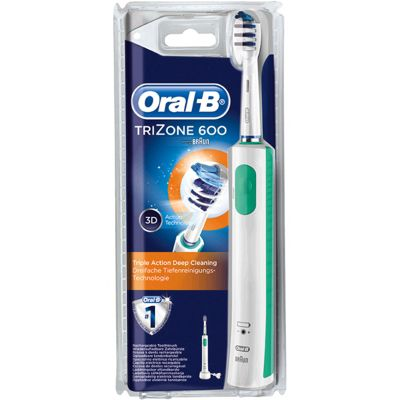 Oral-B Trizone 600 Rechargeable Electric 3D Action Toothbrush
