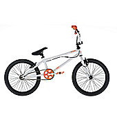 "Diamondback Option 20"" BMX Bike 20/11 R Gyro White / Orange"