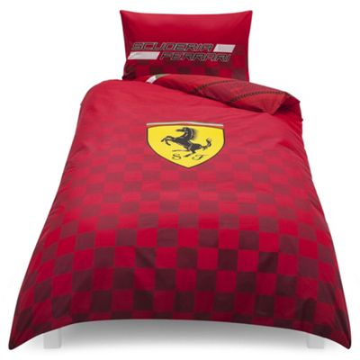 buy ferrari single duvet set from our children 39 s duvet. Black Bedroom Furniture Sets. Home Design Ideas