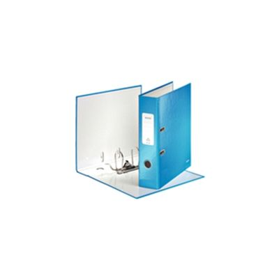 Pack of 10 Leitz WOW Lever Arch File in Blue