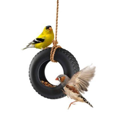 Swing Time Tyre-Swing Bird Feeder
