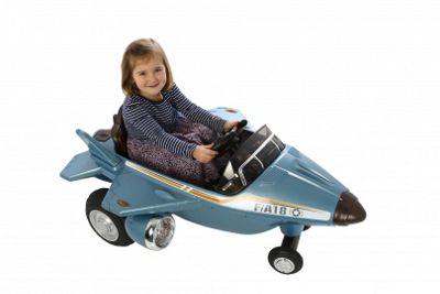 Ride On Plane 6v Twin Motors Blue