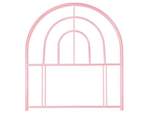 Frank Bosworth Sally Single Metal Headboard - Pink