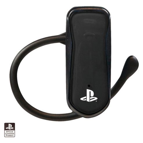 4Gamers Mono PS3 Bluetooth Headset (Black)