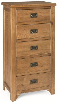 Kelburn Furniture Marino 5 Drawer Wellington Chest