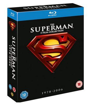 Superman Collection I-V (5 Discs) (Superman 1 - 4 + Superman Returns) (Blu-Ray Boxset)