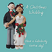 Holy Mackerel A Christmas Wedding, Have a Fabulously Festive Day Greetings Card