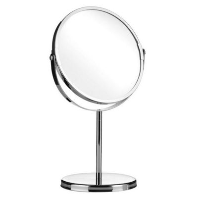 Apollo Chrome Shaving Mirror, Silver