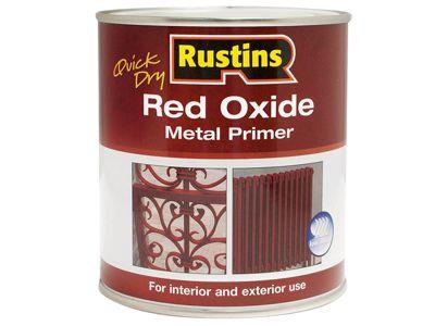 Rustins Quick Dry Red Oxide Metal Primer 2.5 Litre