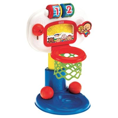 Fisher-Price Bright Beginnings Dunk & Cheer Basketball