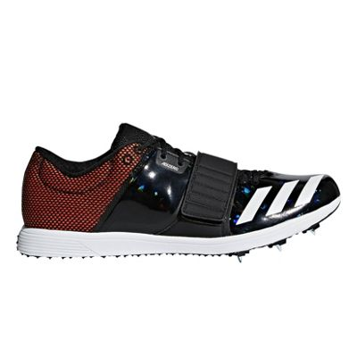adidas adizero Triple Jump / Pole Vault Track & Field Spike Shoe Black - UK 8