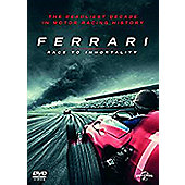 Ferrari: Race To Immortality Dvd