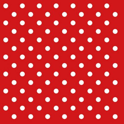 Ambiente 3 Ply Paper Lunch Napkins, Dots Red
