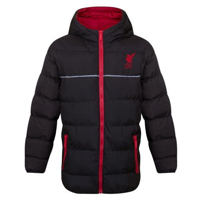 Liverpool FC Boys Quilted Jacket Black 2-3 Years