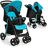 Hauck Shopper SLX Shop n Drive Travel System (Caviar/Aqua)