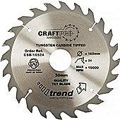 Trend - Craft saw blade 300mm x 24 teeth x 30mm - CSB/30024