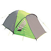 Yellowstone 4 Man Ascent Dome Tent Green