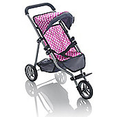 Molly Dolly My First 3 Wheeler Doll Stroller