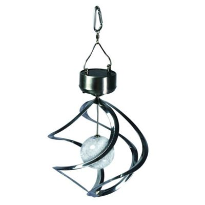 Kingavon Colour Changing Spiral Light, Silver