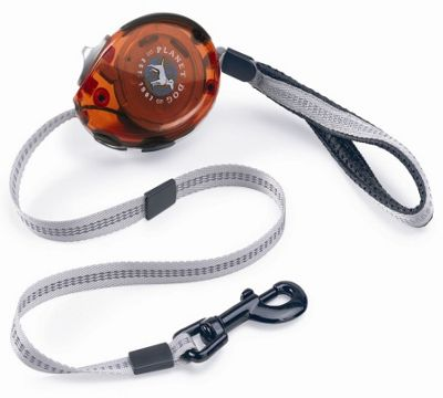 Planet Dog Zip Dog Leash in Orange - Small (182.88cm D) - Orange