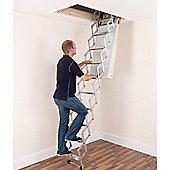 Alufix 2.4m Concertina Loft Ladder