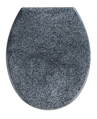 Wenko Ottana Premium Toilet Seat in Granite