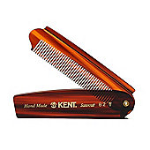 Kent 82T 200mm Fine Toothed Mens Folding Pocket Hair Comb