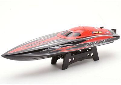 Joysway Bullet V3 Brushless RTR Deep Vee RC Boat Red/Black 2.4GHz