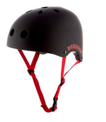 REAX Damaged Helmet 55-59cm Gloss Black