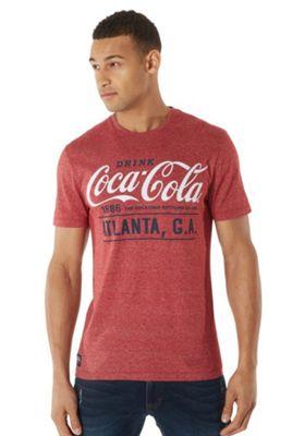 Coca-Cola Marl T-Shirt Red XL