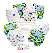 Bambino Mio Miosoft Two-Piece Reusable Birth to Potty Pack (Unisex)