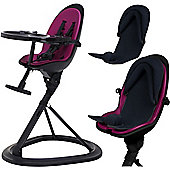 ickle bubba Orb+ Highchair (Black/Purple)
