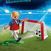 Playmobil Egg Soccer Player with Goal