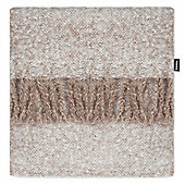 Rocco Opulence Natural Throw - 130x150cm
