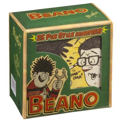 Beano Vintage Coasters, Set Of 25