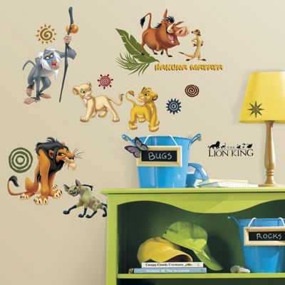 Beautiful Disney The Lion King Wall Stickers Part 10
