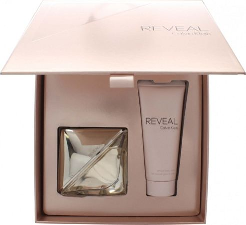 Calvin Klein Reveal Gift Set 50ml EDP + 100ml Body Lotion For Women