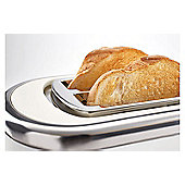 Andrew James Lumiglo Toaster 2 Slice With Warming Rack - White