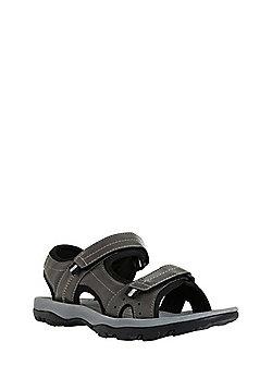 F&F Double Riptape Trekker Sandals - Grey