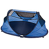 NSAuk Standard Pop Up Travel Cot Small Blue 0-2 Years