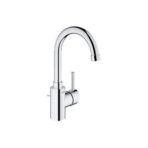 Grohe Concetto Side Action Mono Basin Mixer Tap, Single Handle, Chrome