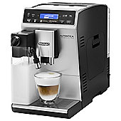 DeLonghi ETAM29660SB Autentica Cappuccino Coffee Maker with 1450W in Silver