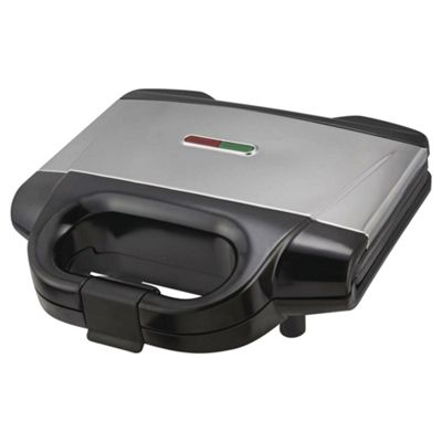 Tesco 2 Slice Sandwich Toaster - Silver