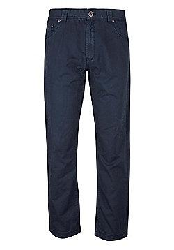 Mountain Warehouse River Mens Short Length Trousers - Blue