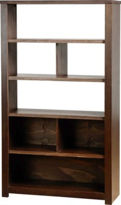 Home Essence Eclipse Bookcase / Display Unit - Walnut