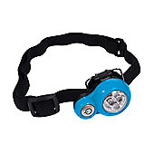 3 LED Headtorch - Orange/Blue - Yellowstone