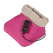 Carmen Shiatsu Foot Warmer Massager Pink
