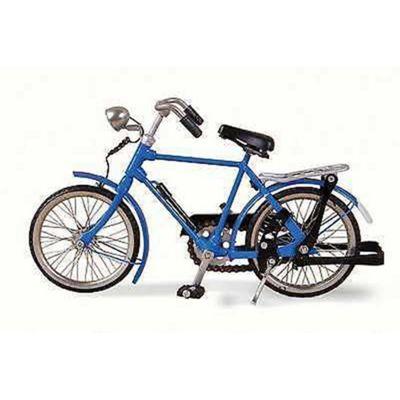 Blue Man Bicycle
